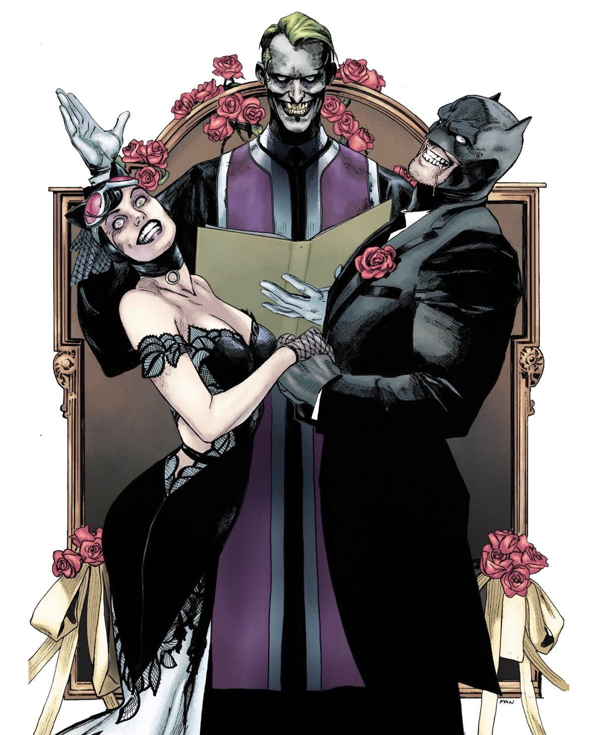 May The Fourth Be With You Dc: Ven Y Enloquece: Batman's Wedding To Catwoman