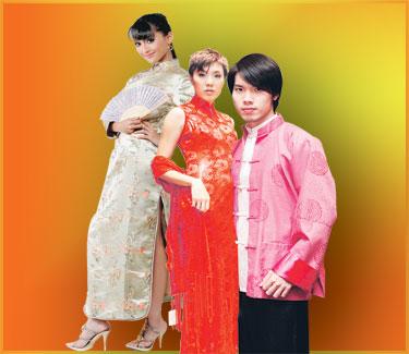 Warisan Tradisional  Pakaian Tradisional Kaum Cina   Samfoo   Cheongsam 4e864c5e38