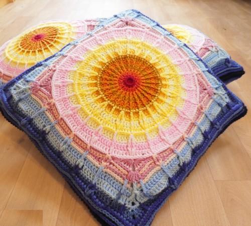 Sunset Cushions - Free Pattern