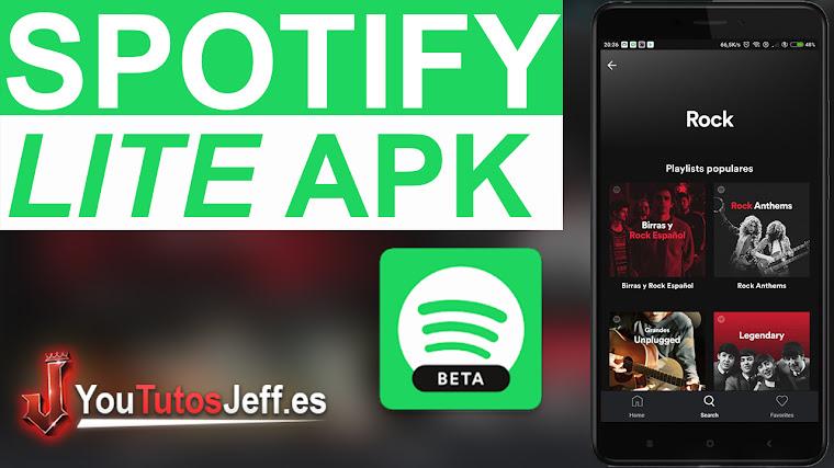 Spotify Lite - Descarga el nuevo Spotify de pocos recursos