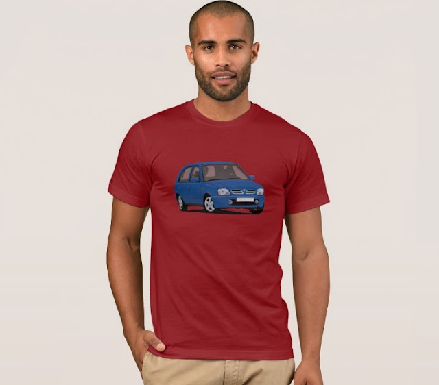 Automobile t-shirt - Nissan Micra or March