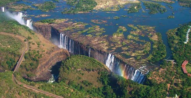 Air Terjun Victoria, Zambia / Zimbabwe