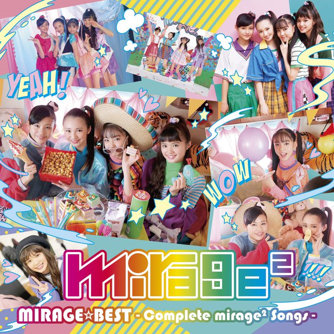 MIRAGE☆BEST ~Complete mirage2 Songs~ DVD [2020.06.24+MP4+RAR]