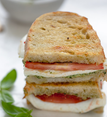 Grilled Mozzarella Sandwich