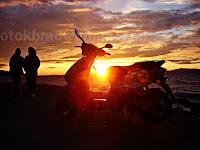 Zalazak sunca, Postira otok Brač slike