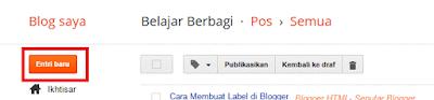 Langkah-Langkah Membuat Label Blogger