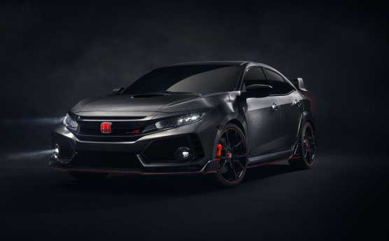 2017 Next-gen Civic Type R Honda officially divulged at Paris Auto Show