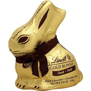 lindt dark chocolate gold bunny