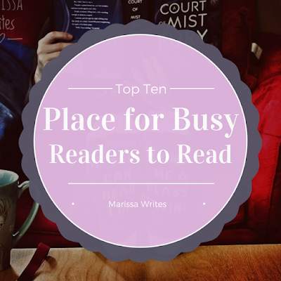 Top Ten Places for Busy Book Lovers to Read