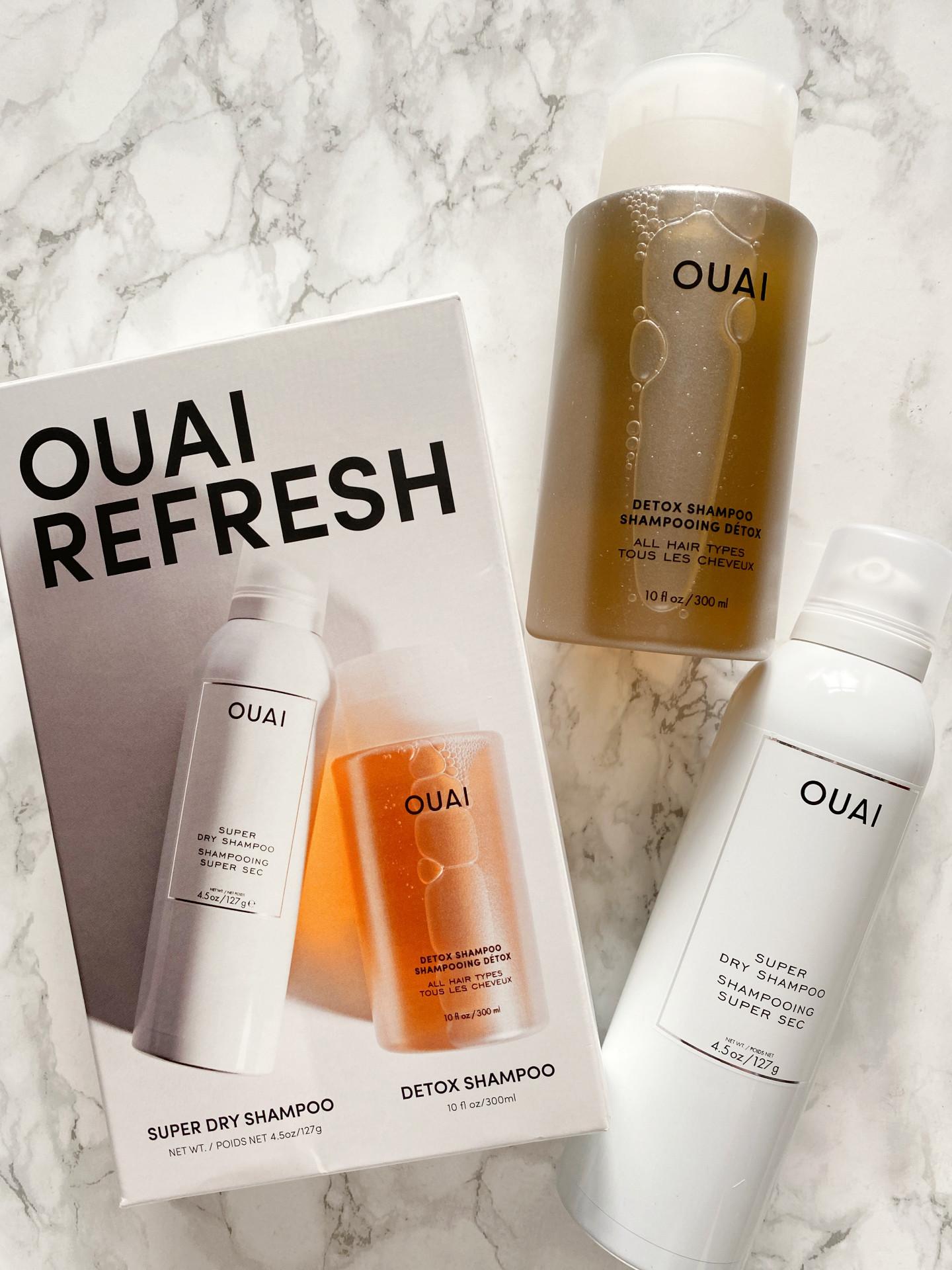 ouai refresh kit detox dry shampoo review