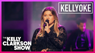 Kelly Clarkson Brings Kellyoke To A Hauntingly Stellar 1990s Visit. Covering Chris Issak Timeless 'Wicked Game'! 🕯🌟🎶🎙🎭 Via, The Kelly Clarkson Show.