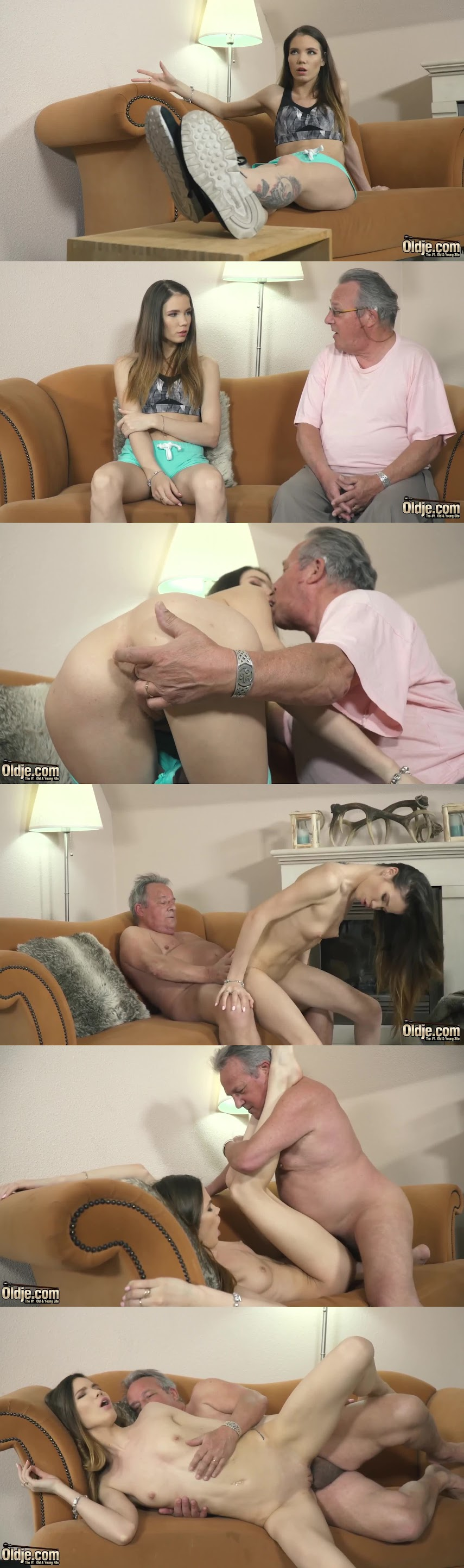 Old-Young Episode 709 Giving You More Lovenia Lux