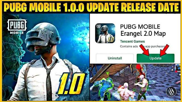 PUBG Mobile 1.0.0 güncellemesi: Çıkış tarihi ve yeni özelliklerin listesi