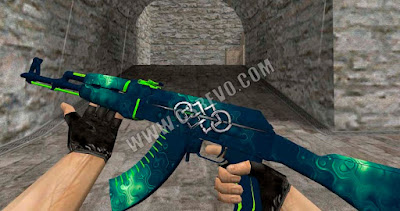 Skin AK47 - Baine Blade - HD CS 1.6, ak-47