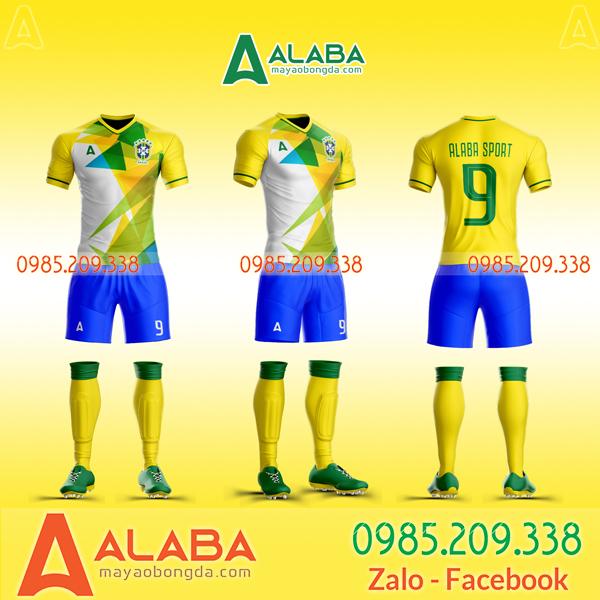 Áo bóng đá màu vàng đẹp