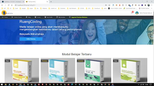Web e-Course SIRuangCoding