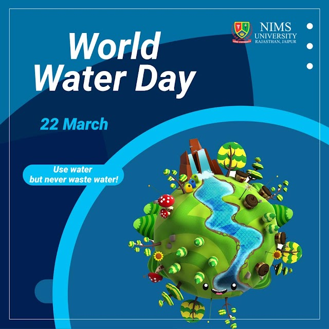 World Water Day : Save Water Image & Slogans