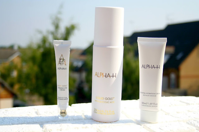 Alpha-H Liquid Gold Firming & Hydrating Collection as part of a QVC TSV to celebration 15 years of being on sale in the UK