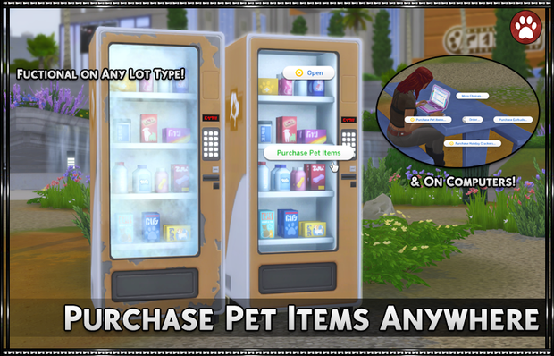 Purchase Pet Items Anywhere