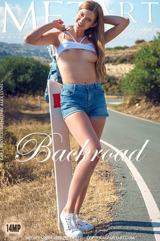 [Met-Art] Kay J - Backroad - idols