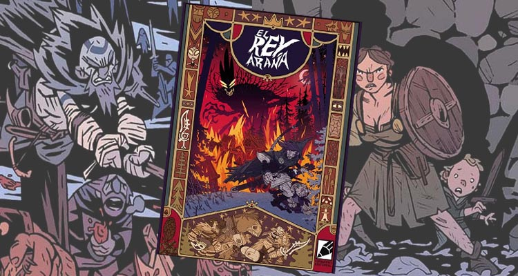 """Reseña de """"El Rey Araña"""", nuevo cómic del catálogo de Grafito Editorial"""