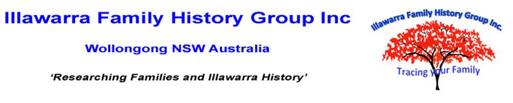 Illawarra Family History Group Inc.