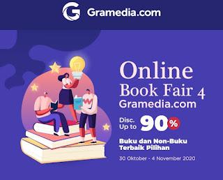 Jual buku murah gramedia