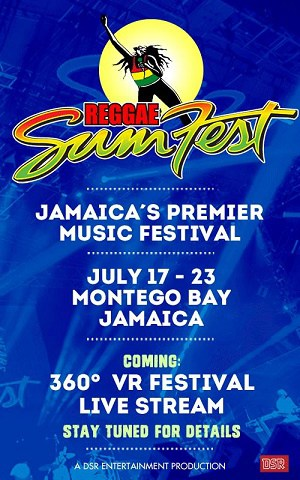 Don't miss a moment Africa!!! Tune in LIVE from the 2016 Reggae Sumfest