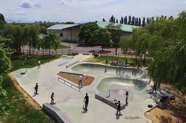 skatepark carriere sur seine
