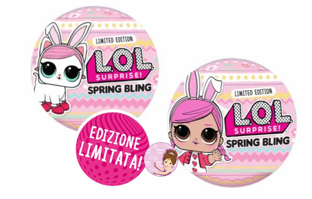 Easter lol surprise egg toys 2020 Spring Bling