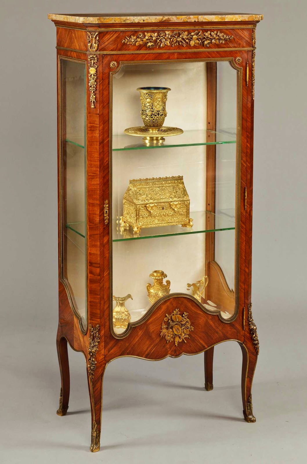 the buzz on antiques vitrines they 39 re not just for breakfast anymore. Black Bedroom Furniture Sets. Home Design Ideas