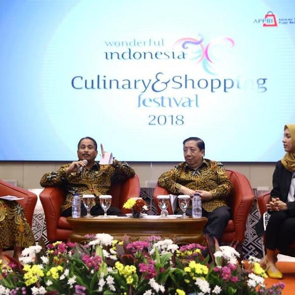 Nikmati Berburu Kuliner dan Belanja di Wonderful Indonesia Culinary and Shopping Festival 2018