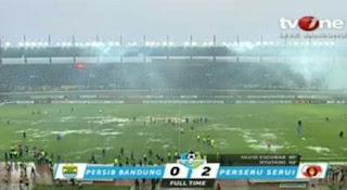 Persib Bandung vs Perseru Serui 0-2