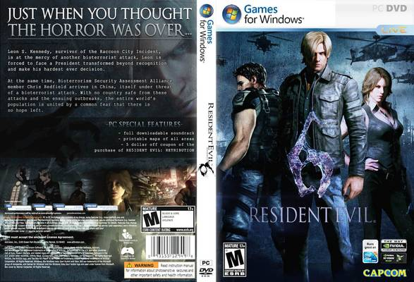 Resident Evil 6 PC by Extremezone ( Skidrow )