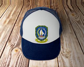 desain topi lambang logo provinsi kepulauan riau- kanalmu