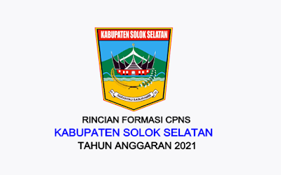Formasi CPNS Kabupaten Solok Selatan Tahun 2021