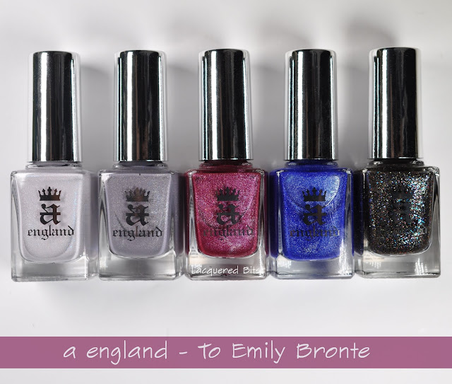A England To Emily Bronte Collection Swatches & Review