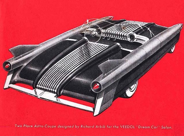 a Richard Arbib Astro-Coup concept car 1952