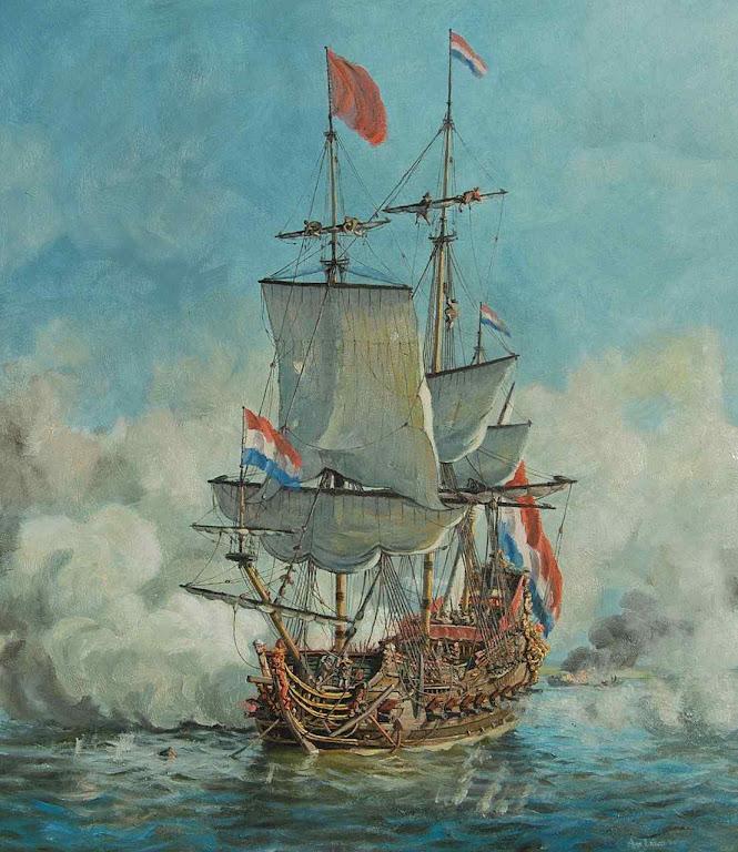 Galeão de guerra holandês