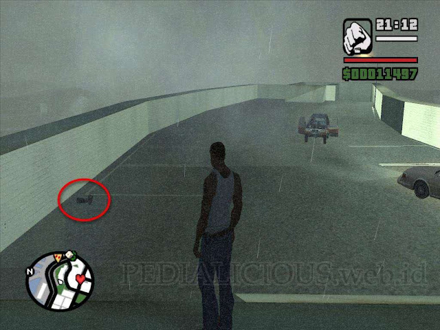 Lokasi Camera (Kamera) di Esplanade North GTA San Andreas