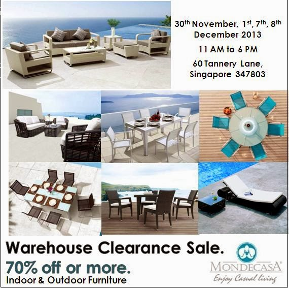 Tua Lobang: MONDECASA Indoor & Outdoor Furniture Warehouse
