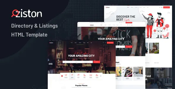 Best Directory & Listings HTML Template