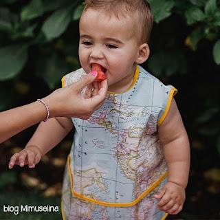 baby led weaning, alimentación complementaria, saber si mi bebe se queda con hambre blog mimuselina