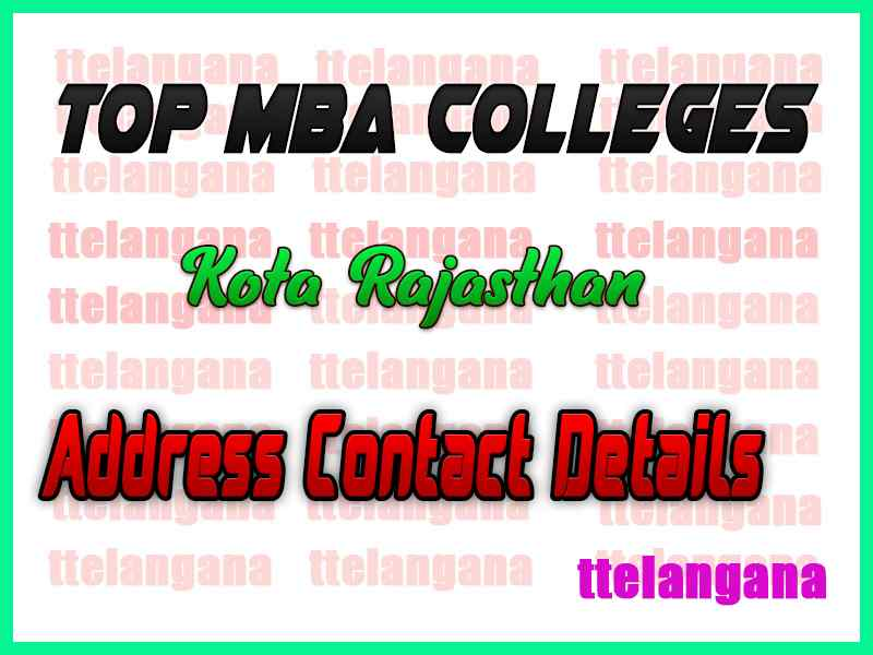 Top MBA Colleges in Kota Rajasthan