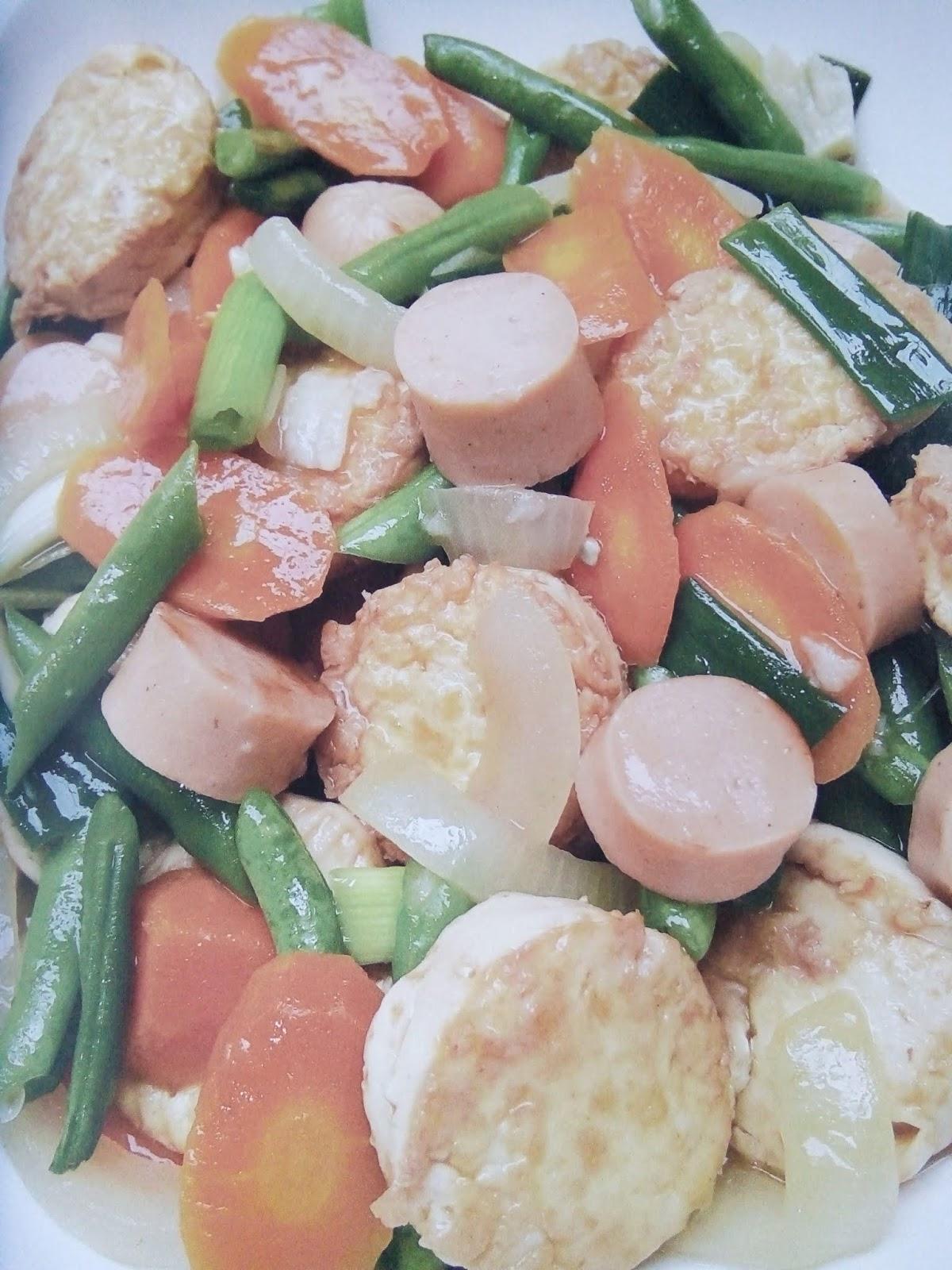 Resep Cah Sosis Tofu