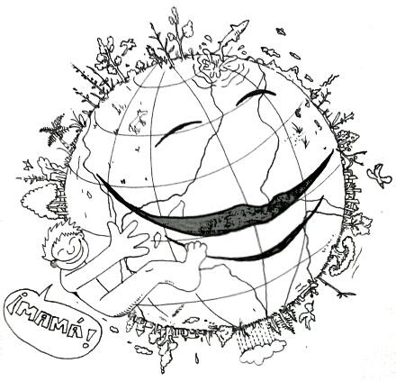 Imagenes con Frases de amor al planeta tierra