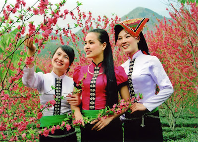 The Thai ethnic group in Vietnam's northern
