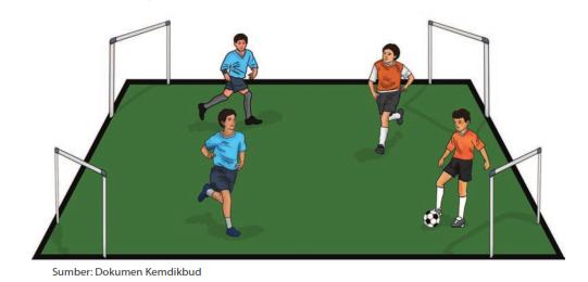Permainan sepak bola modifikasi