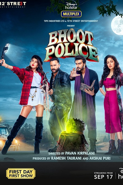 Download Bhoot Police (2021) Hindi 720p + 1080p WEB-DL MSubs