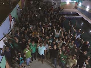 Em Cacimba de dentro Tiago da EMATER reúne coordenação  e militantes para debater metas de campanha